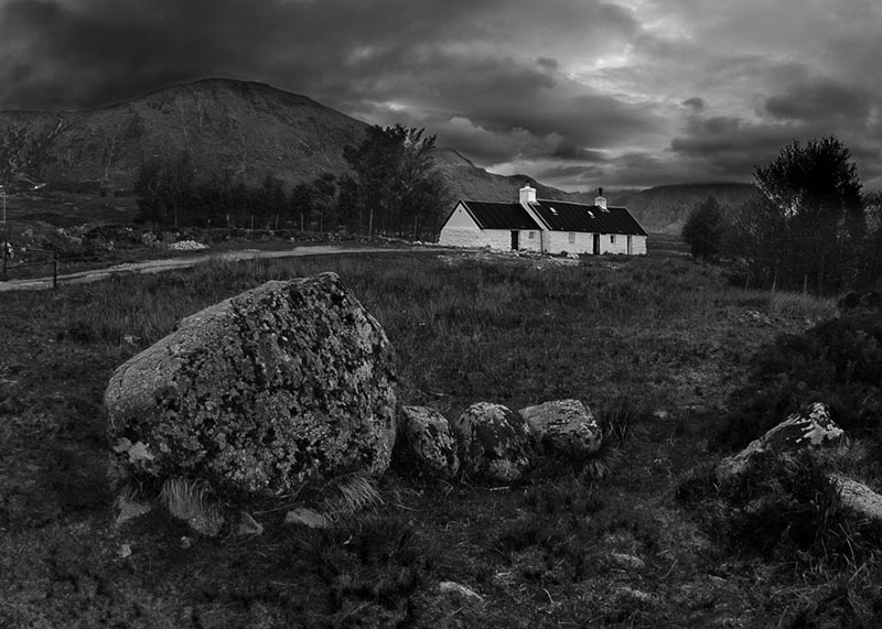 Bad Weather Over Black Rock Cottage
