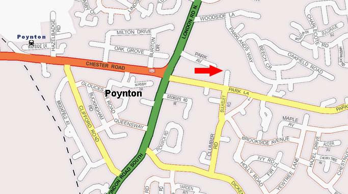 MapPoynton