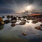 """Criccieth Sunset"", Dave Shandley (C)"