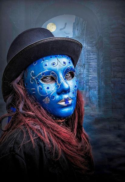 Kinda Blue by Geoff Robinson - Best advanced print, 3rd Print Co
